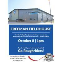 Ribbon Cutting - Freeman Fieldhouse at Crowder College