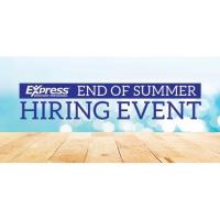 End of Summer Hiring Event