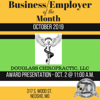 Business of the Month- Douglass Chiropractic, LLC
