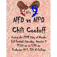 Ole' Neosho Fire Dept vs. Neosho Police Dept Chili Cookoff