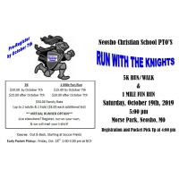 Neosho Christian School PTO'S Run with the Knights