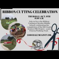 Ribbon Cutting @ Neosho Middle School