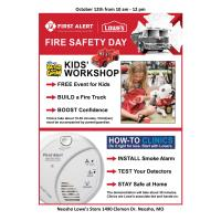 Fire Safety Day at Lowe's Neosho