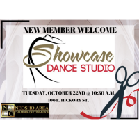 Ribbon Cutting - Showcase Dance Studio