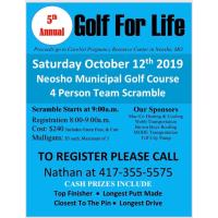 5th Annual Golf For Life