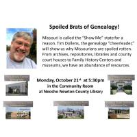 Spoiled Brats of Genealogy