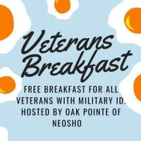 Veteran's Breakfast at Oak Pointe