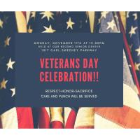 Veteran's Day Celebration at the Neosho Senior Center