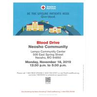 Blood Drive Neosho Community