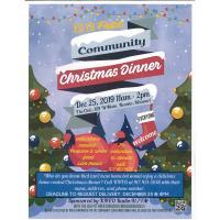 2019 Free Community Christmas Dinner