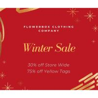 Winter Sale at Flowerbox Clothing Co.