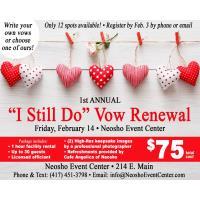 """""""I Still Do"""" Vow Renewal"""