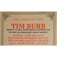 BBQ Benefit for Tim Burr