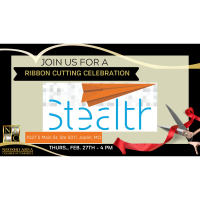 New Member Welcome Ribbon Cutting - Stealth Creative