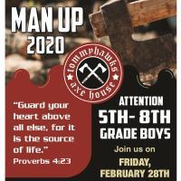 Man Up Boys Rally