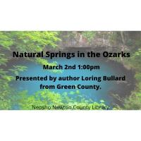 NNCL Presents: Natural Springs in the Ozarks