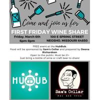 First Friday Wine Share - March