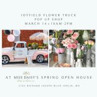 Joyfield Flower Truck Pop-Up at Miss Daisy's
