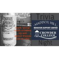 3rd Annual Trivia at the Taproom Fundraiser for Maddox Hill