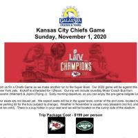 Kansas City Chiefs Game - Day Trip with GalaxSea Cruises & Tours