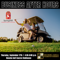 Business After Hours at the Neosho Golf Course, Sponsored by Spring Hill Assisted Living