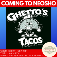 Ghetto Tacos is coming to Antique-ish