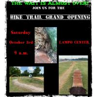 Bike Trail Grand Opening