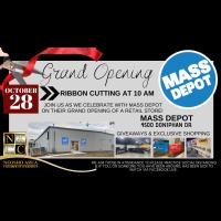 Grand Opening Ribbon Cutting @ Mass Depot