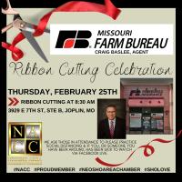 Ribbon Cutting - Missouri Farm Bureau, Craig Baslee