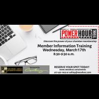 Power Hour Training - Neosho Chamber Office
