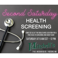 Second Saturday Health Screening