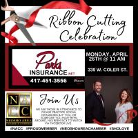 Ribbon Cutting - Parks Insurance