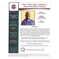 High in Plain Sight: Substance Abuse Prevention Training
