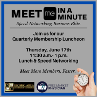 Quarterly Membership Lunch - Meet Me in A Minute