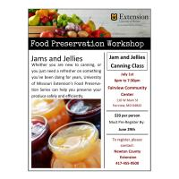 Jams and Jellies Canning Workshop