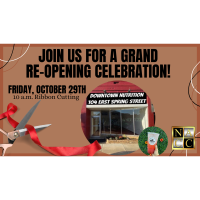 Grand Re-Opening at Downtown Nutrition