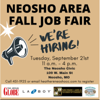 Hosted by Neosho Area Chamber of Commerce