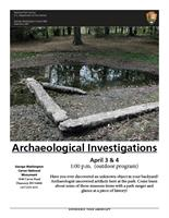 ARCHAEOLOGICAL INVESTIGATIONS