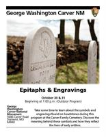 EPITAPHS AND ENGRAVINGS
