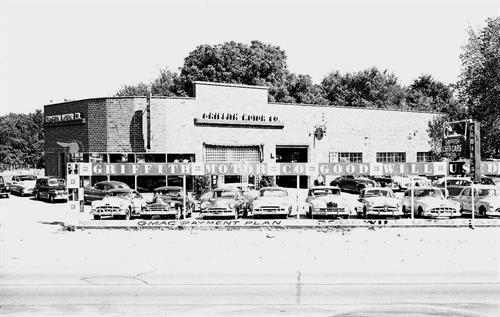 Griffith Motor Company, 1952, Boulevard Location