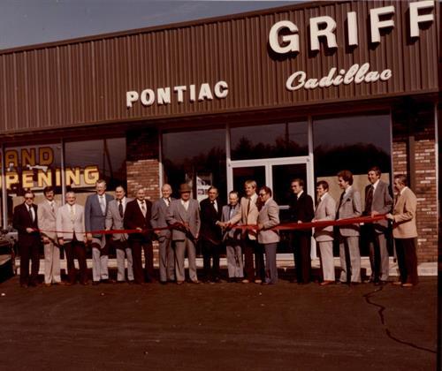 1979 Grand Opening Harmony Street Location