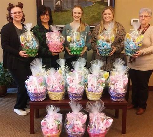 Easter Baskets for Christopher Foundation 2021