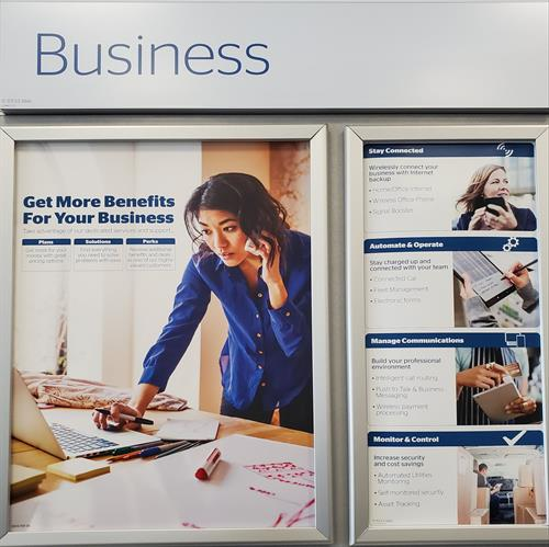 We offer a variety of Business Solutions