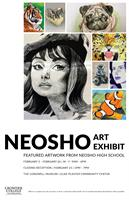Neosho Art Exhibit: Featured Artwork from Neosho Highschool at the Longwell Museum