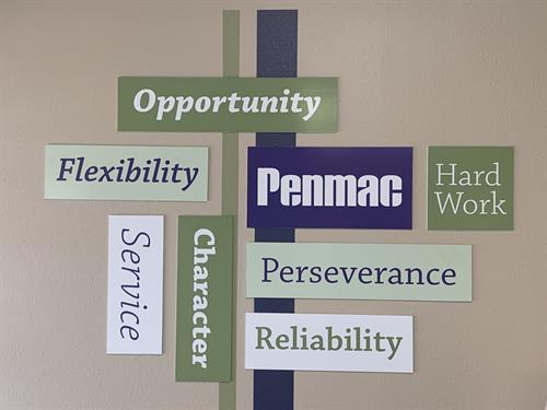 Penmac values