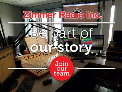 Join our team Zimmer Radio