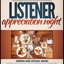 KNEO recognizes their supporters annually with the Listener Appreciation Dinner.