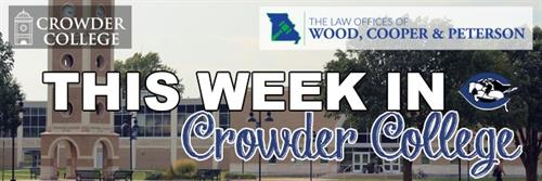KNEO offers the program, This Week in Crowder College, discussing events at the college.