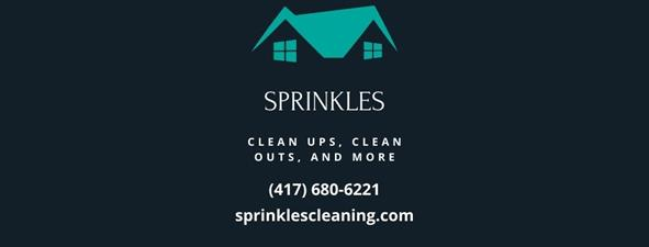 Sprinkles Clean Ups,  Cleans Outs, and More