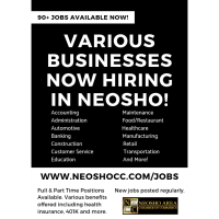 Now Hiring in Neosho